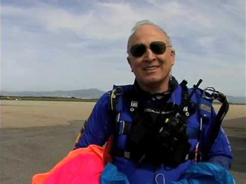 Parachute Mobile at Skydive Monterey Bay Marina Airport along with RadioFest in Seaside, CA