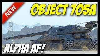► Object 705A - ALPHA AF! - World of Tanks Object 705A Preview - 9.22 Update