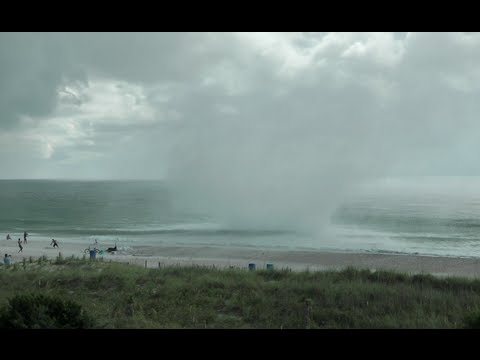 Waterspout Tornado Carolina Beach- Extreme Close Up