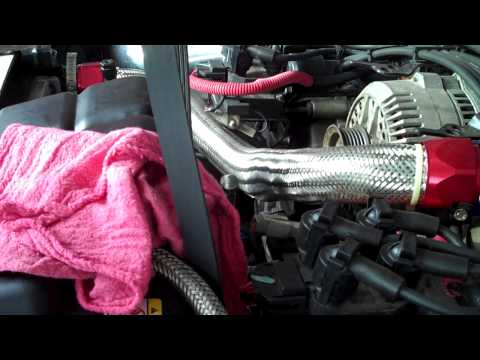 4.6 Ford Mustang Serpentine Belt Replacement