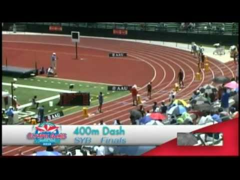 2012 AAU Junior Olympics Sub-Youth Boys 400 Meter Dash Finals