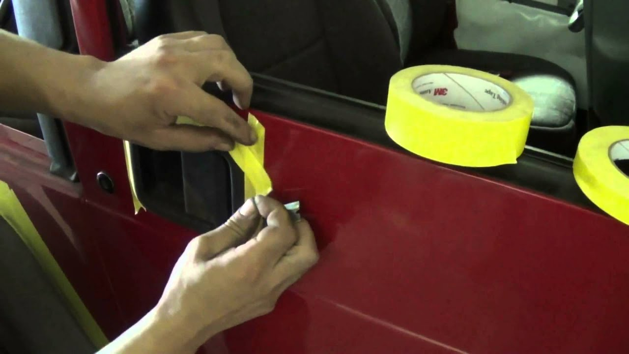 Покраска пластикового бампера с баллончика своими руками