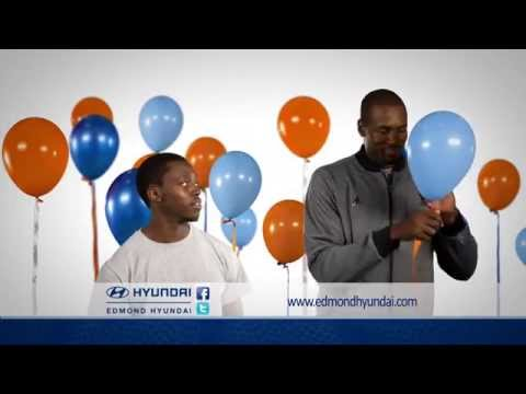 Oklahoma City Basketball Players Sing Edmond Hyundai Jingle