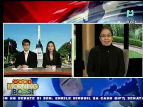 IBP 40th Anniversary – Interview with Atty Trixie Cruz-Angeles at PTV4