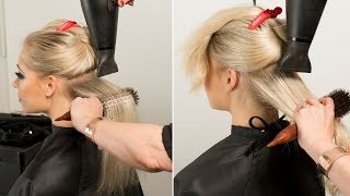 Long Hair Styling Preparation
