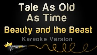 Beauty And The Beast Tale As Old As Time Karaoke Version
