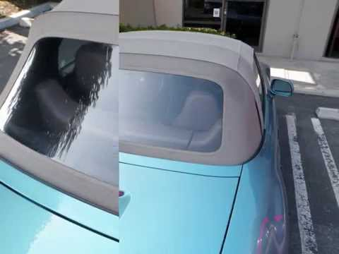 BMW Convertible top install, replacement, and repair, BMW auto upholstery
