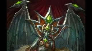 Hearthstone Blood-Queen Lana'thel Interaction with direhorn hatchling