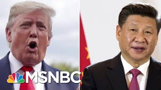 President Donald Trump Delays New China Tariffs Ahead Of Trade Talks | Velshi & Ruhle | MSNBC