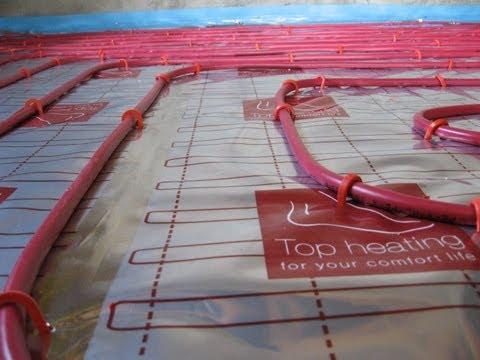 Podlaha pro podlahové topení