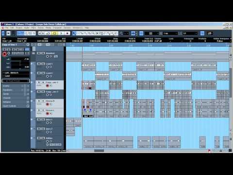 Как создать музыку cubase 6