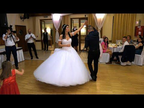 Timi és Marci esküvői buli, mulatós cigány dalok videó, Újhartyán Faluközpont, Trombitás Étterem