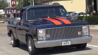 1984 Chevy Square Body C/K 10 Classic Silverado limited edition Show Truck