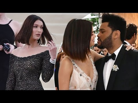 "Selena Gomez Says ""I Love You"" to The Weeknd Right IN FRONT of Bella Hadid's Family at the Met Gala!"