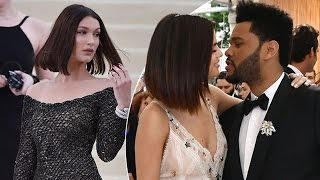 "Selena Gomez Says ""I Love You"" to The Weeknd Right IN FRONT of Bella Hadid"