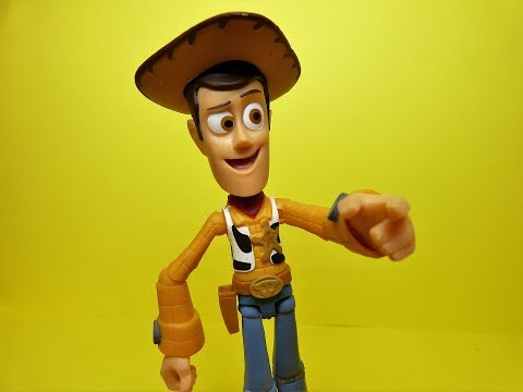 Woody - Toy Story - Disney Pixar Toybox Action Figure Review