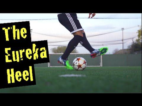 Learn New Amazing Soccer Skill! Crazy BackHeel Pass: The Eureka-Heel | Sean Garnier Move!