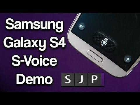 Samsung Galaxy S4 S-Voice Demo Better than Siri or Google Now ?