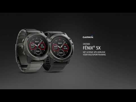 Maak kennis met de fēnix® 5X serie