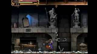 Castlevania Order Of Ecclesia Gameplay
