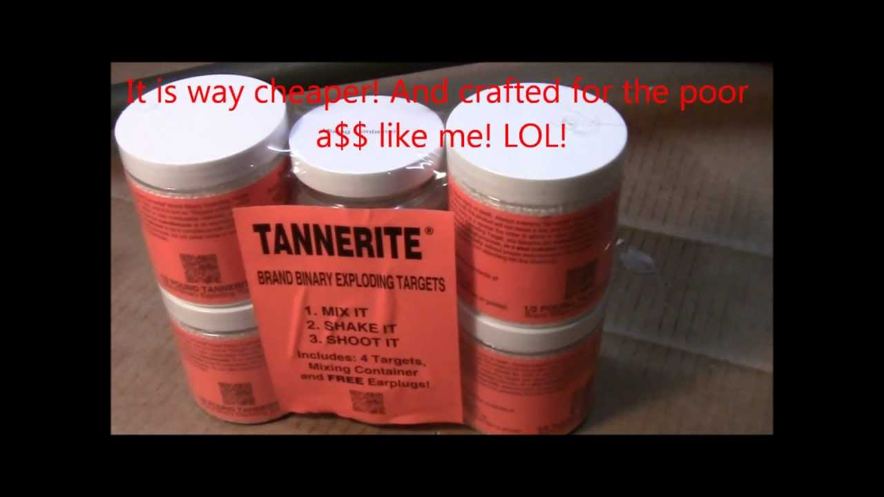 youtube binary explosives tannerite for sale