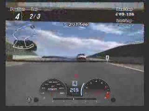 Gran Turismo 4: Driving Mission 12