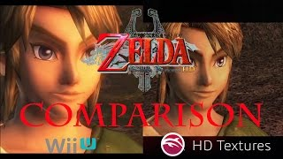 Zelda Twilight Princess HD Wii U/ishiiruka-dolphin + HD Textures Comparison