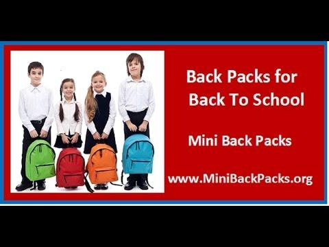 Back to School Backpacks for Kids  | Back to School Mini Backpacks for kids
