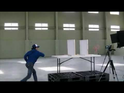 Samsung H205 - Master of Business Card Throwing