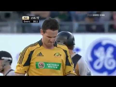 Brendon McCullum 116* vs Australia 2010 HD