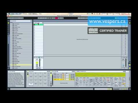 Ableton Tutorial: Correcting phase problems with layered kickdrum waveforms