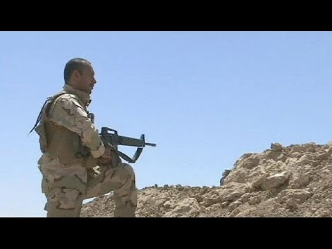 Iraq: US air strikes back Kurd push to retake Mosul dam
