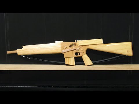 [rubber band gun] blowback M16A1