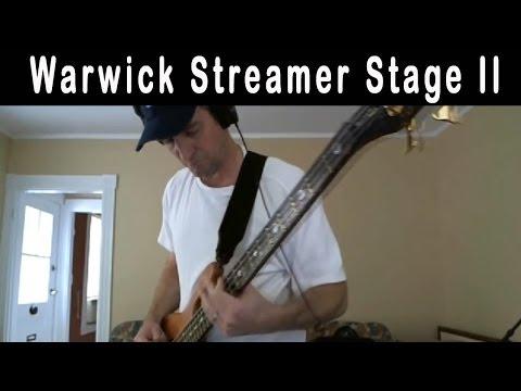 Sound of Wood Video - Warwick Streamer Stage II