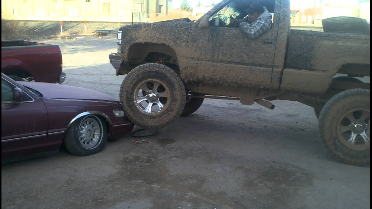 Chevy Big Truck la chevy 4x4 perrona - YouTube