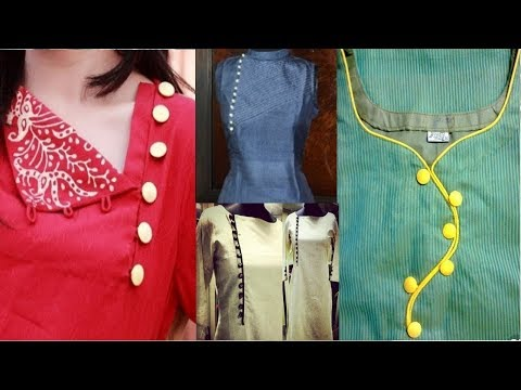 neck design|latest neck design || Neck Design For Ladies Suit || suit neck design