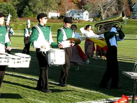 Leavitt Area High School Marching Band 2008