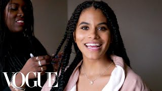 Zazie Beetz Gets Ready for the Joker Premiere | Vogue