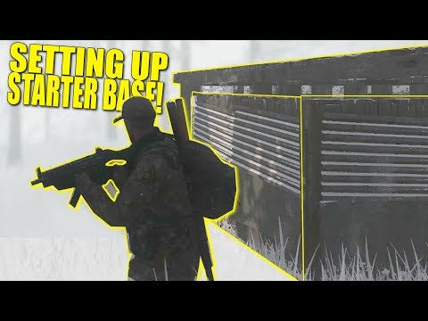 SETTING UP STARTER BASE! (HOW TO GET STARTED) - Miscreated (Survival)