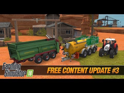 farming simulator 18 free content update #3 for ios and