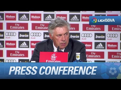 Press Conference Ancelotti after Real Madrid (1-2) Atlético de Madrid - HD