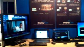 DisplayLink IDF 2011 demos