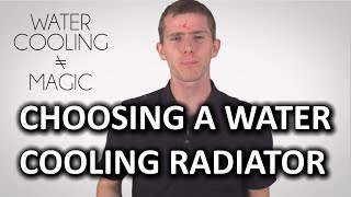 Water Cooling Radiators as Fast As Possible