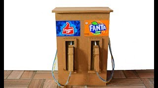 DIY Cold Drinks Dispenser | How to Make Drinks Fountain Machine |