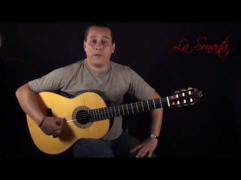 Free lesson with tabs BOLERO Vicente Amigo on a Manuel Adalid Viviana by Rezar Dominguez
