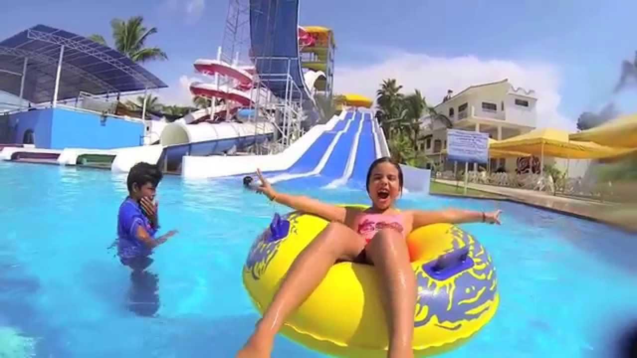 splash parque acuatico youtube