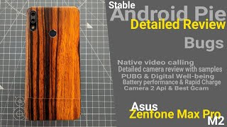 Zenfone Max Pro M2 Stable Android Pie 9.0 Detailed Review | Sudh Hindi