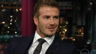 David Beckham (Letterman)