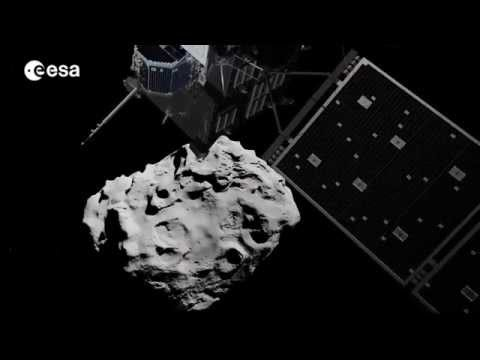 Rosetta Space Mission Landing on a Comet - ESA Video