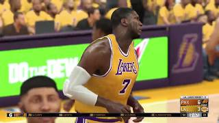 NBA 2K17 Los Angeles Lakers vs Phoenix Suns Game 2 Western Conference Finals